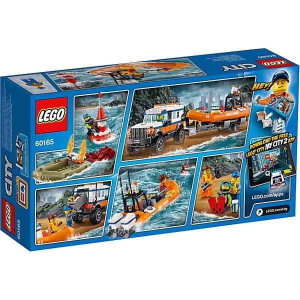 LEGO City 60165: Внедорожник 4х4 команды быстрого реагирования