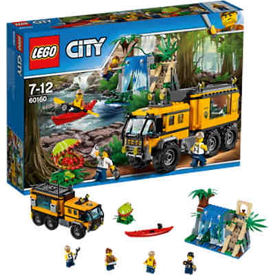 LEGO 60160 City: Mobiles Dschungel-Labor