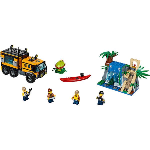 LEGO 60160 City: Mobiles Mobiles Mobiles Dschungel-Labor, LEGO City f9c35e