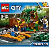 LEGO City 60157: Набор «Джунгли» для начинающих