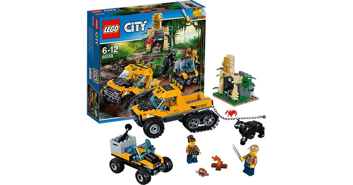 LEGO 60159 City: Mission mit dem Dschungel-Halbkettenfahrzeug