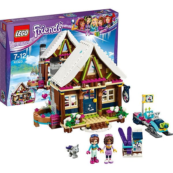 LEGO Friends 41323: Горнолыжный курорт: шале