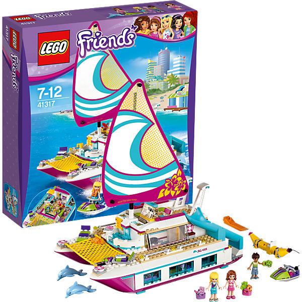 LEGO 41317 Friends: Sonnenschein-Katamaran, LEGO Friends