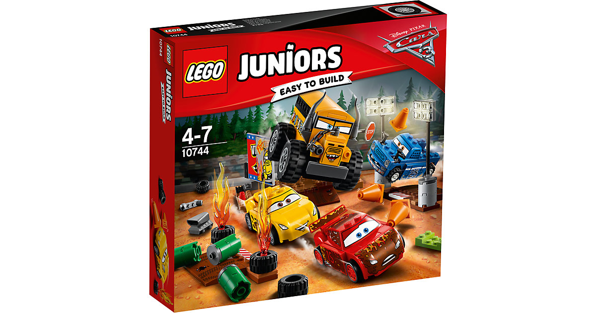 LEGO 10744 Juniors: CARS Crazy 8 Rennen in Thunder Hollow
