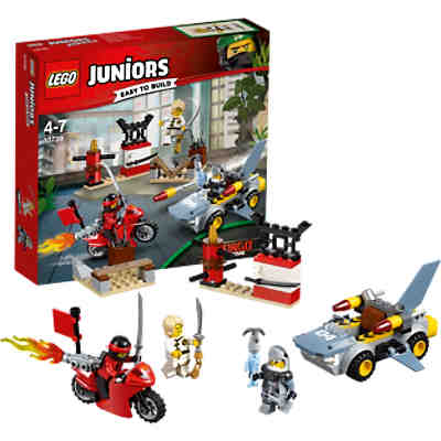 lego 10739 juniors ninjago cars haiangriff lego ninjago. Black Bedroom Furniture Sets. Home Design Ideas
