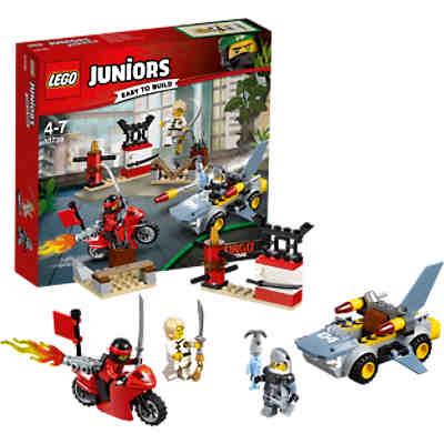 lego 10739 juniors ninjago cars haiangriff lego ninjago. Black Bedroom Furniture Sets. Home Design Ideas
