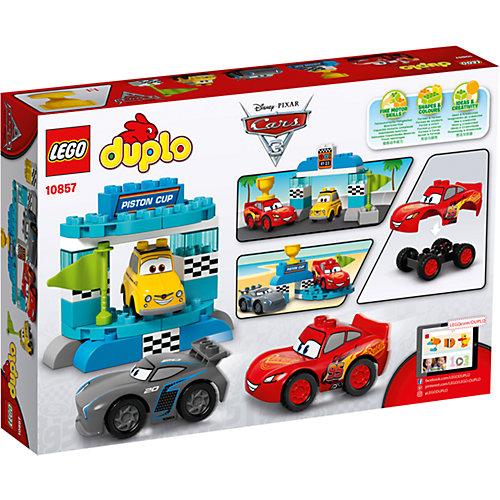 "Конструктор LEGO DUPLO 10857 ""Тачки 3"": Гонка за Кубок Поршня от LEGO"