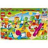 LEGO DUPLO 10840: Большой парк аттракционов