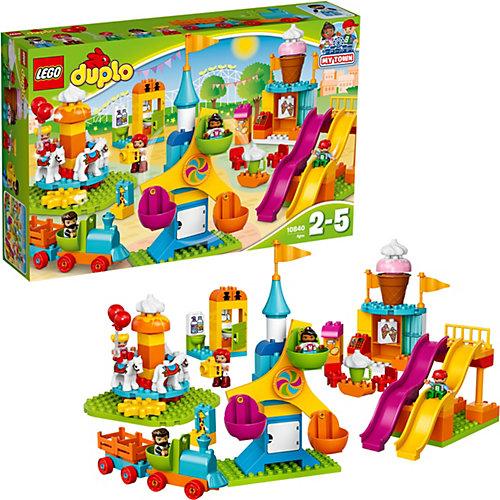 LEGO DUPLO 10840: Большой парк аттракционов от LEGO