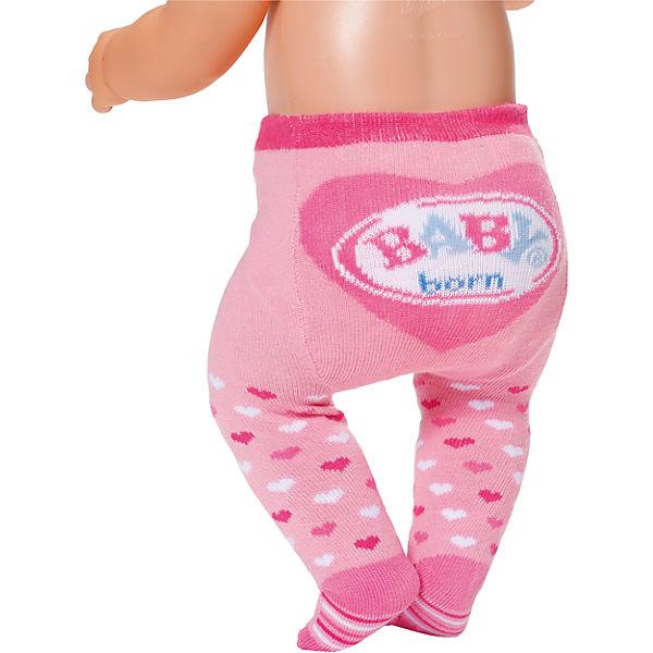 baby born strumpfhosen wei rosa 2er set puppenkleidung. Black Bedroom Furniture Sets. Home Design Ideas