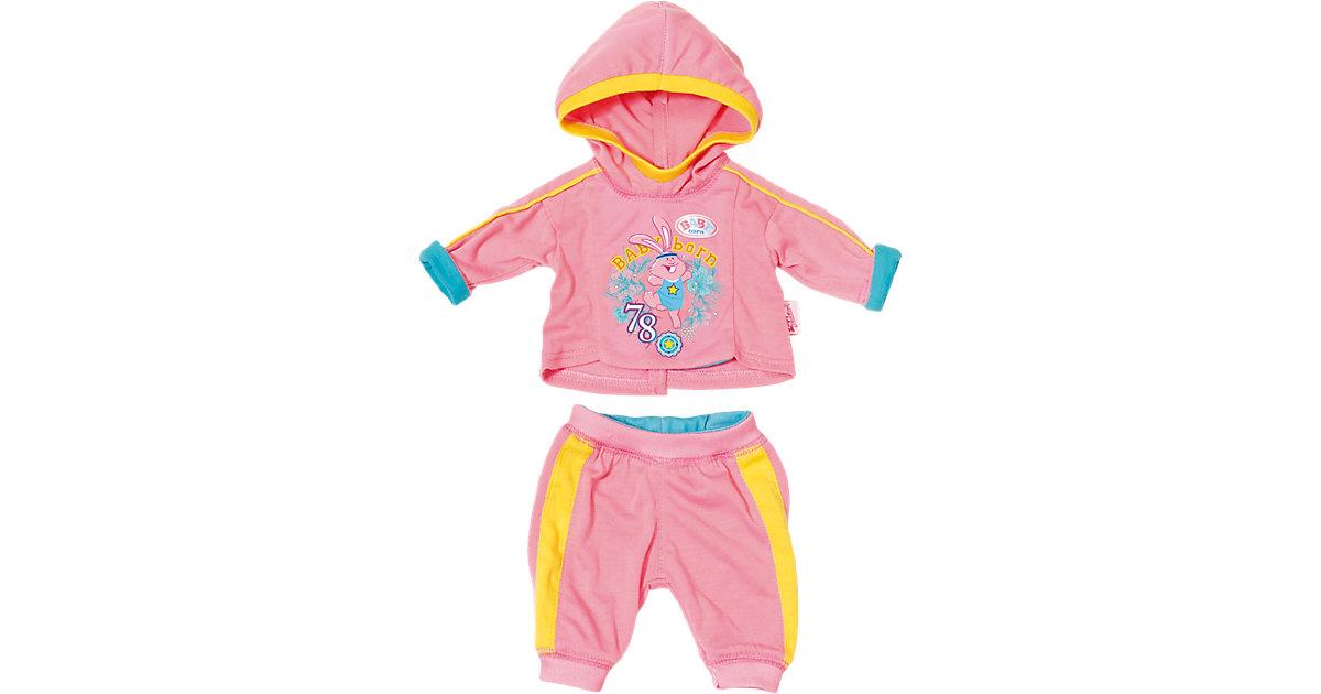BABY born® Jogginganzug Rosa Puppenkleidung, 43 cm