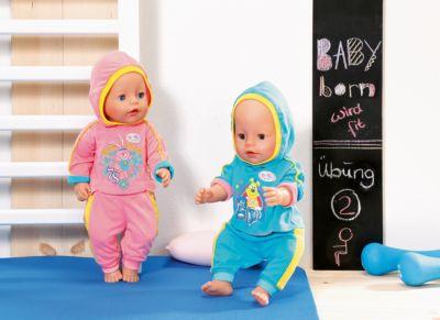 Mütze Jacke passend für Baby Born oder Puppen 43cm 5.PUPPENKLEIDUNG Hose