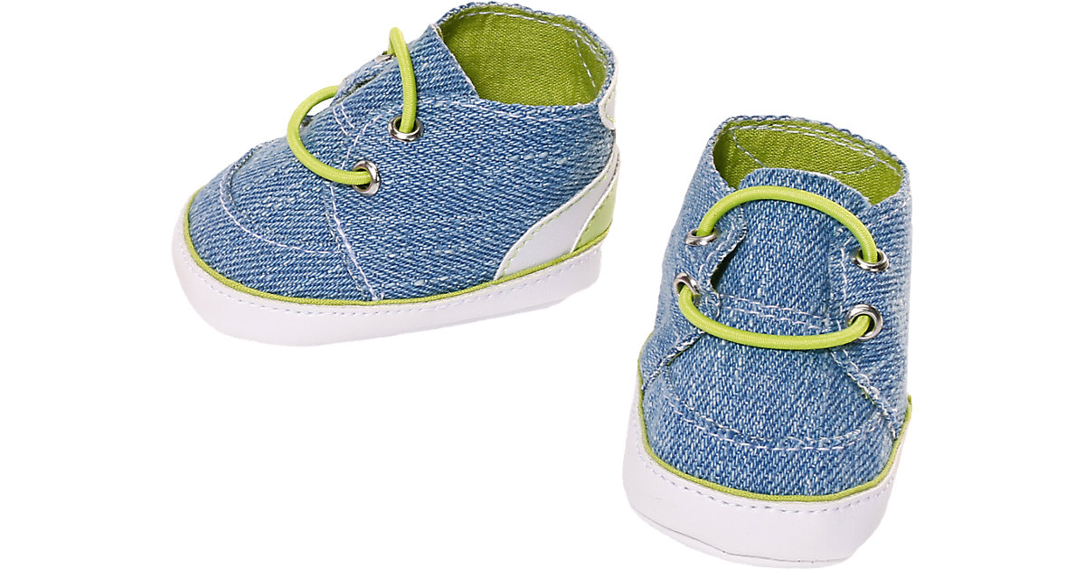 BABY born® Sneakers Blau Puppenkleidung, 43 cm, Puppenschuhe