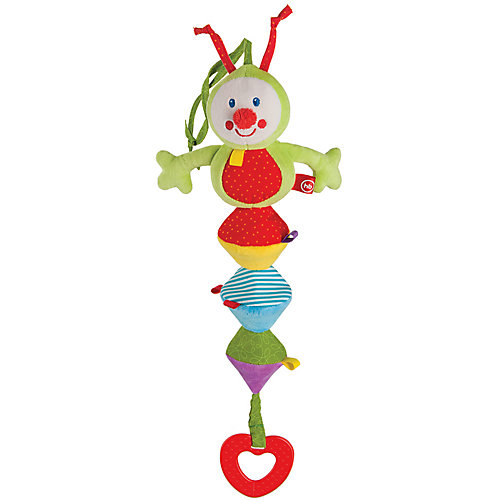 Игрушка-погремушка Chatty Caterpillar, Happy Baby от Happy Baby