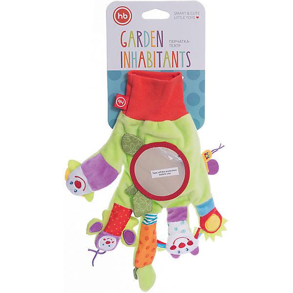 Развивающая игрушка Перчатка  Garden Inhabitants, Happy Baby