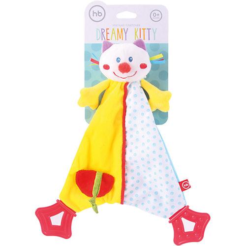 Развивающая игрушка Платок Dreamy Kitty, Happy Baby