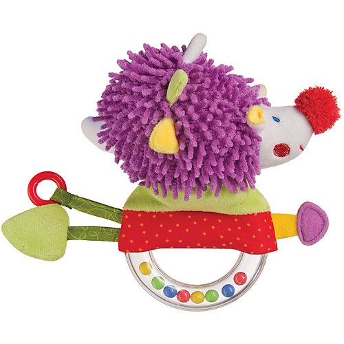 Погремушка-пищалка Funny Hedgehog,  Happy Baby от Happy Baby