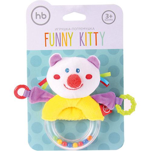 Погремушка-пищалка  Funny Kitty, Happy baby от Happy Baby