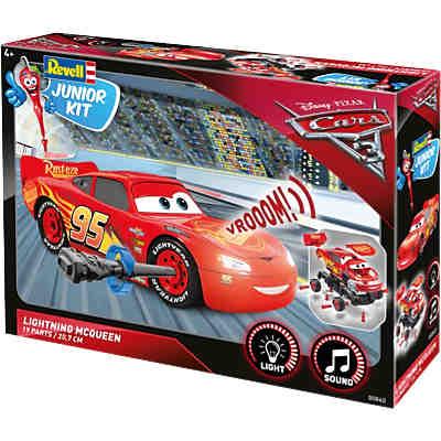 Revell Junior Kit Cars Lightning Mcqueen Disney Cars