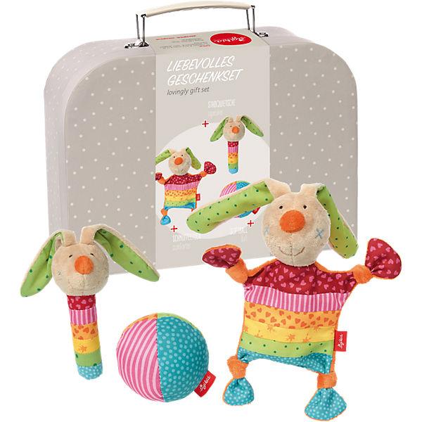 Geschenkset mit Koffer, Rainbow Rabbit (41523), sigikid
