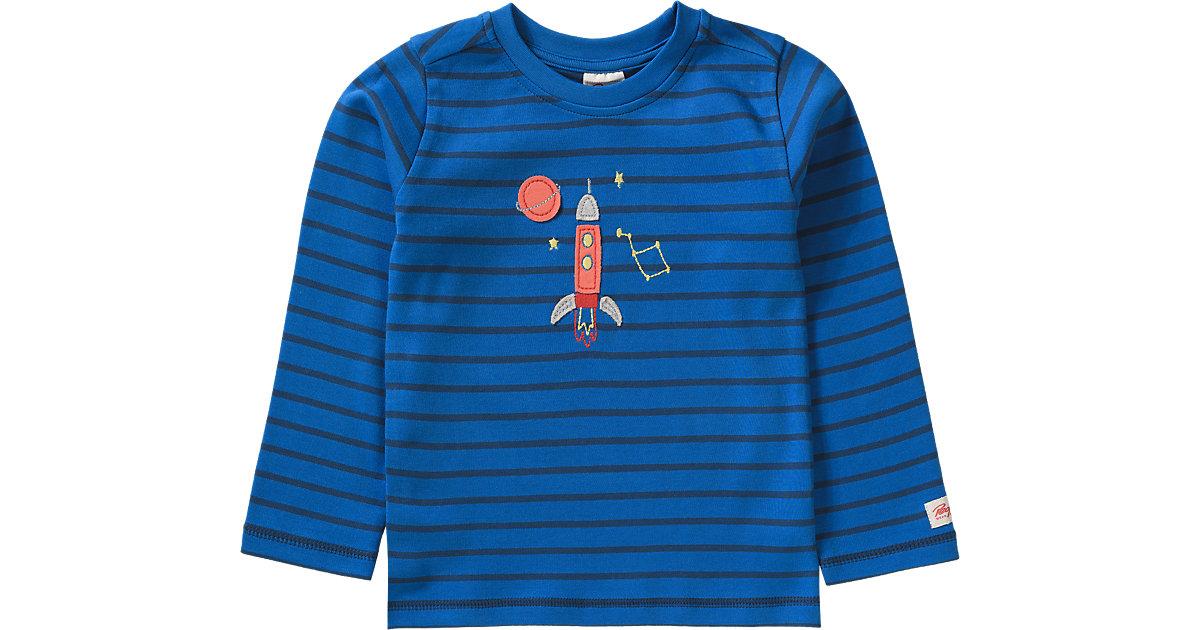 Langarmshirt , Organic Cotton, Rakete Gr. 116 Jungen Kinder