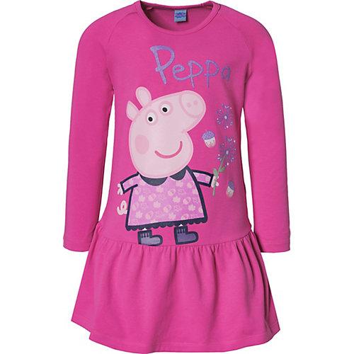 Peppa Pig Kinder Jerseykleid Gr. 92 Mädchen Kleinkinder | 04022158382711
