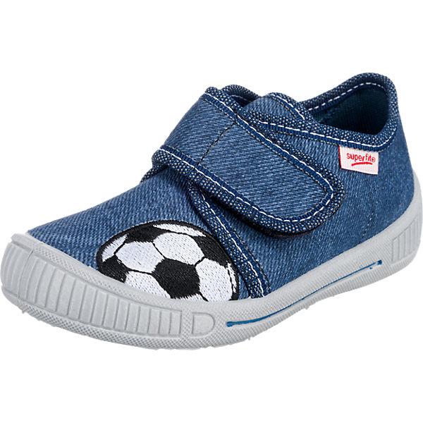 sports shoes 8afc2 91dc9 Baby Hausschuhe BULLY für Jungen, WMS-Weite M3, superfit