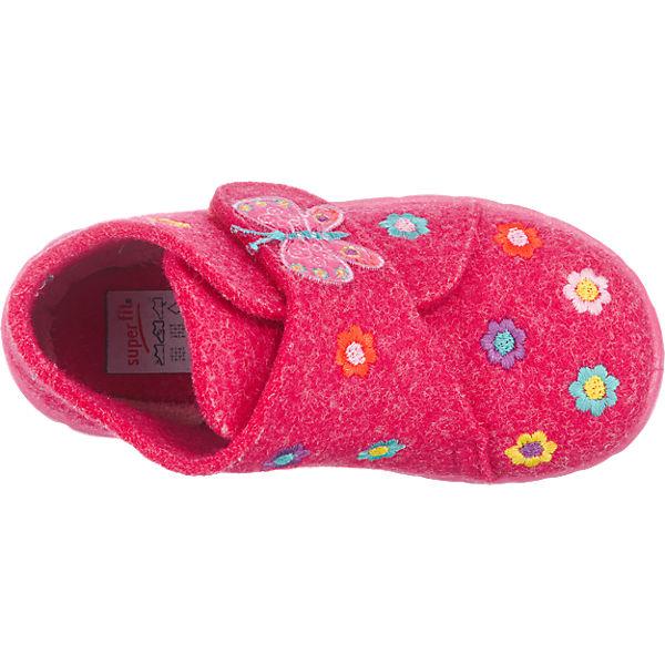 bbc59c84fbb4a2 Baby Hausschuhe HAPPY für Mädchen