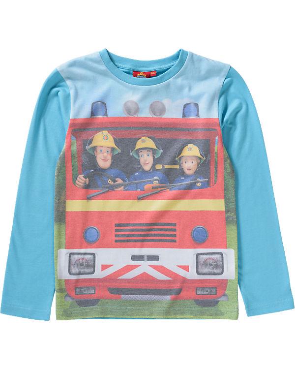 17d999cecdeb5 Feuerwehrmann Sam Langarmshirt für Jungen