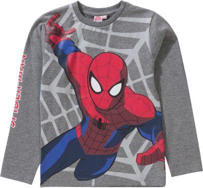Spider Man Langarmshirt Für Jungen ...
