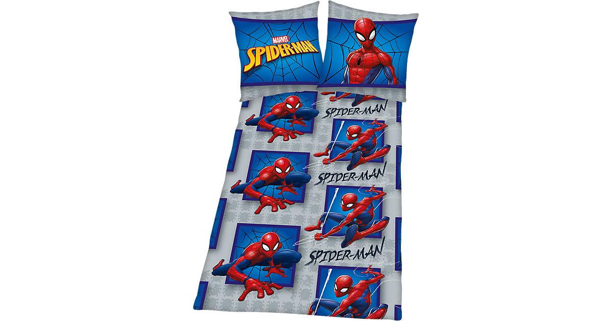 spiderman 043688 bettw sche web baumwolle renforce 135 x. Black Bedroom Furniture Sets. Home Design Ideas
