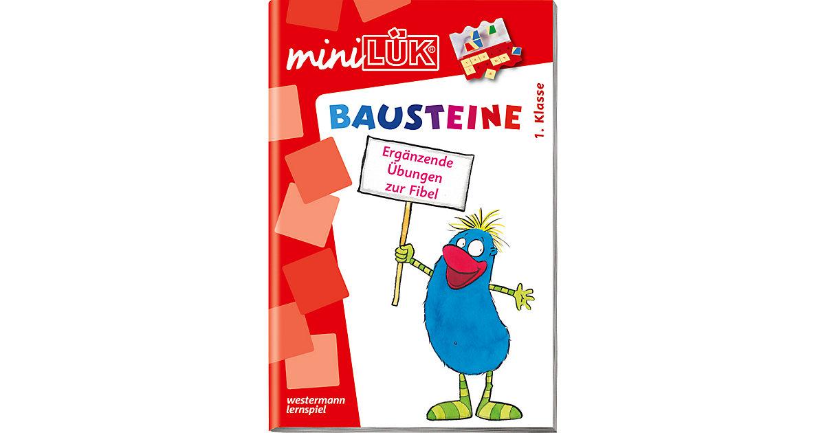 mini LÜK: Bausteine - Ergänzende Übungen zur Fi...