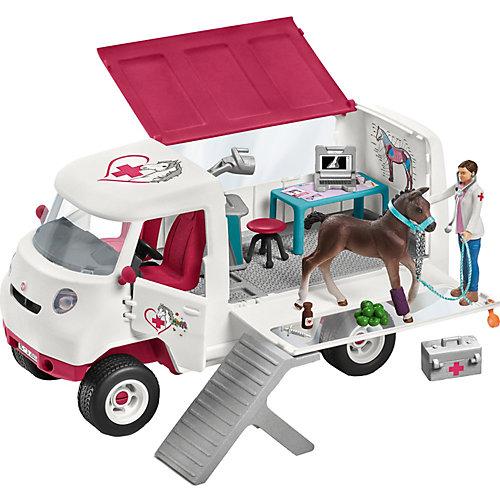 """Игровой набор Schleich """"Пикап ветеринарной службы с лошадью"""" от Schleich"""
