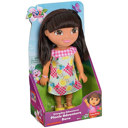 """Кукла Даша-путешественница из серии """"Приключения каждый день"""", Fisher Price от Mattel"""