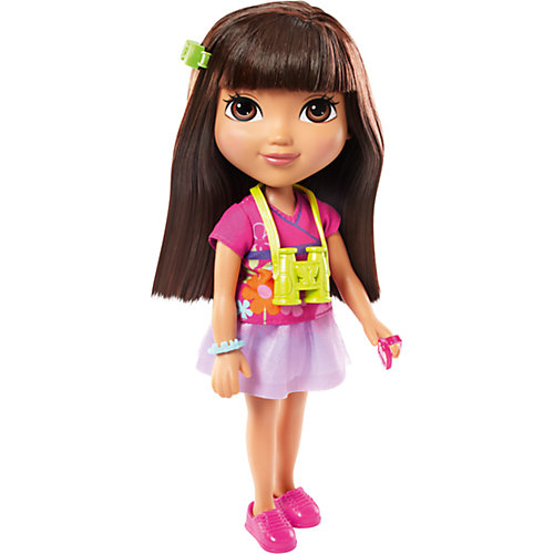 Кукла Даша-путешественница с аксессуарами, Fisher Price от Mattel