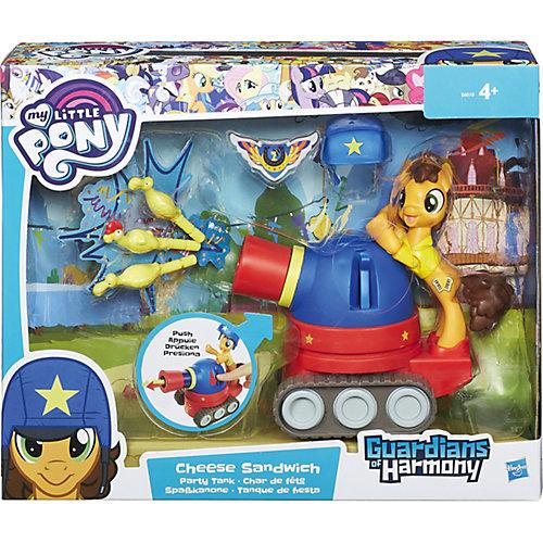 """Игровой набор Hasbro My little Pony """"Хранители гармонии"""", Чиз Сэндвич на праздничном танке от Hasbro"""