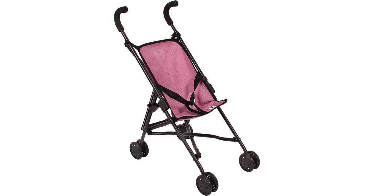 Mini-Buggy Roma, Jeans pink