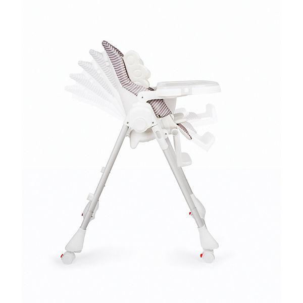 Стульчик для кормления Happy Baby Wingy, серый