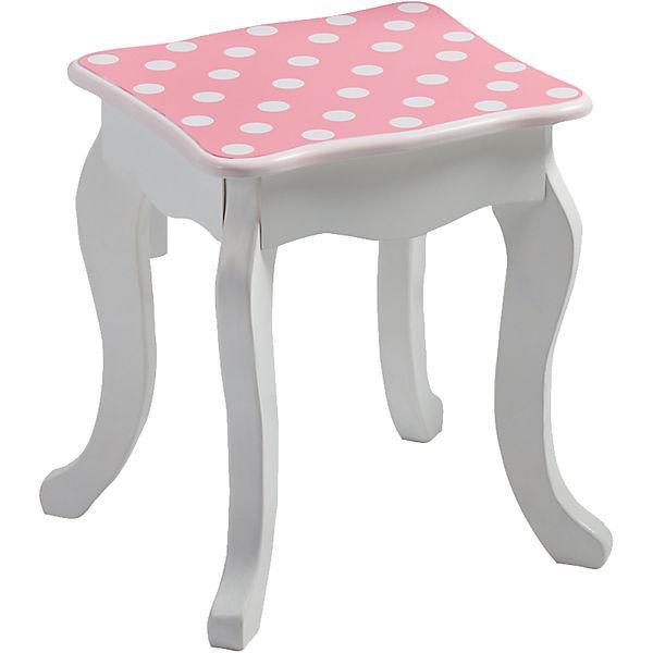 Schminktisch Polka Dots pink/weiß, CHIC 2000 aKxsPN