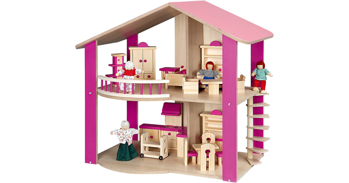 Puppenhaus pink