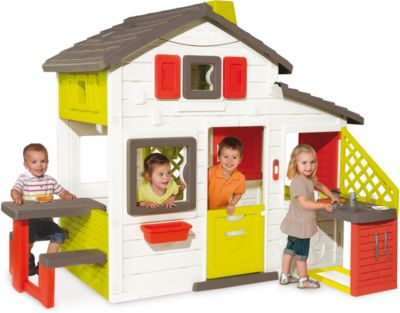 Домик для друзей с кухней, 217*155*172 см, Smoby