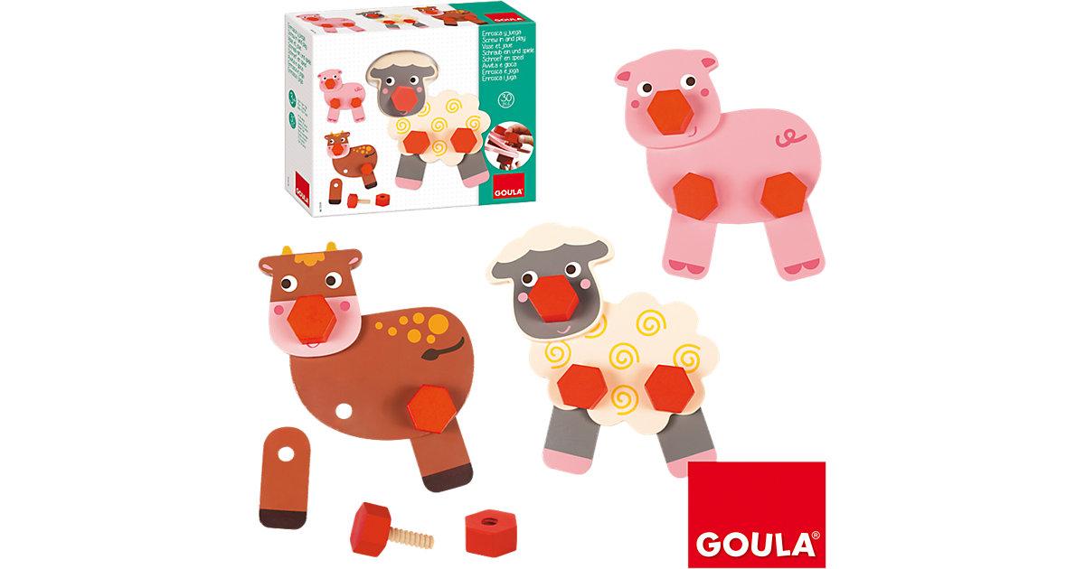 Goula · Schraubspiel Bauernhoftiere