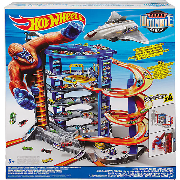 Hot Wheels Super Megacity Parkgarage, Hot Wheels