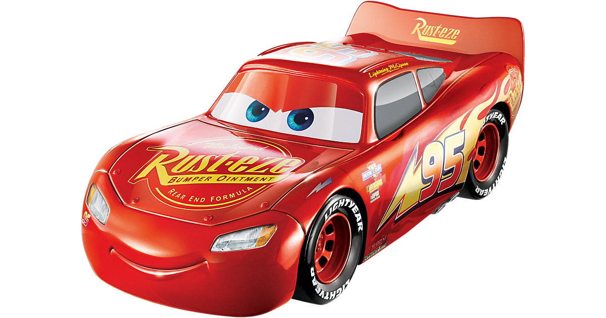 Disney Cars 3 3-in-1 Rennfahrzeug Lightning McQueen