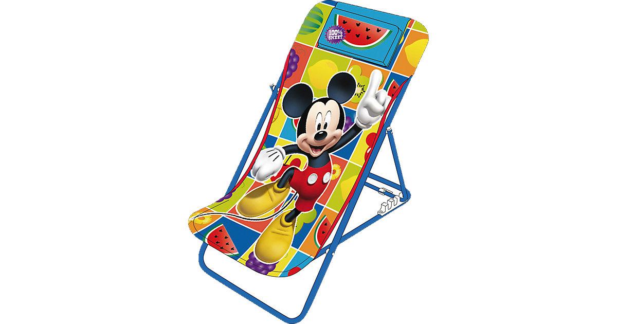 Strandstuhl, Mickey Mouse, klappbar