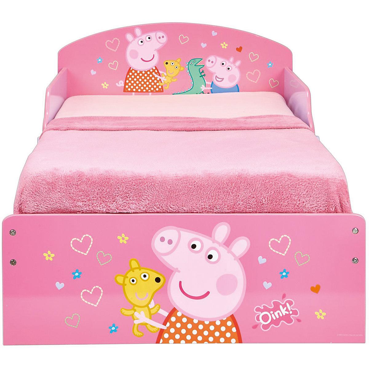 Kinderbett, Peppa Pig, rosa, 70 x 140 cm, Peppa Pig | myToys