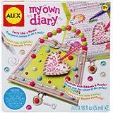 """Набор для декора личного дневника """"Секреты на замке"""", Alex"""