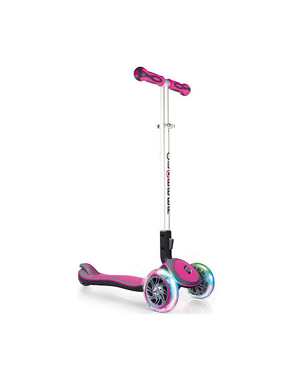 Scooter Elite Lights Pink Klappbar Globber Mytoys