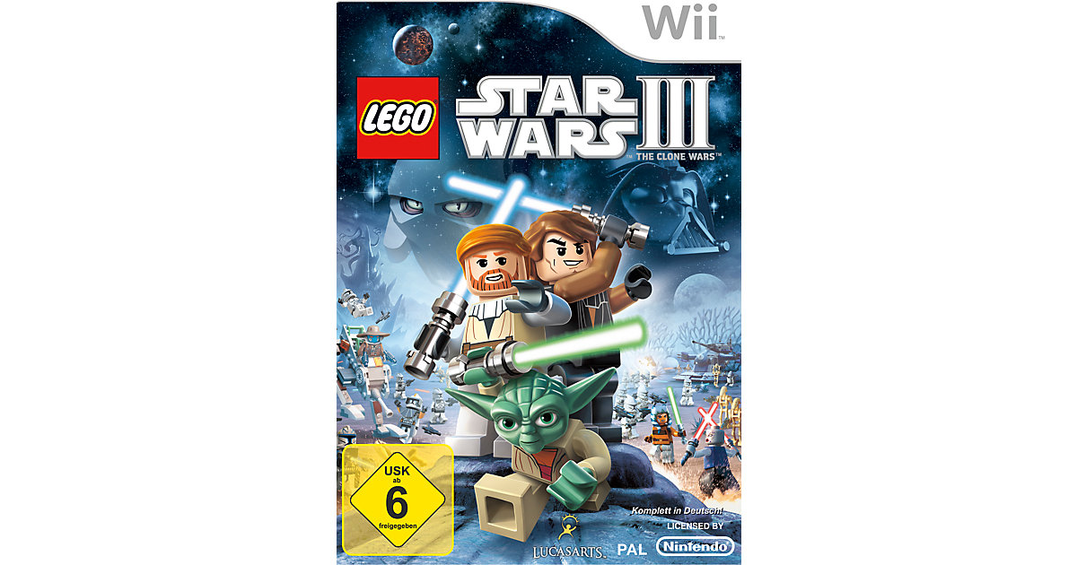 Wii Lego Star Wars 3