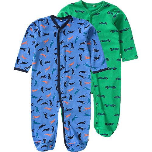 Pippi Schlafanzug 2er Pack Gr. 62 Jungen Baby | 05712672013251